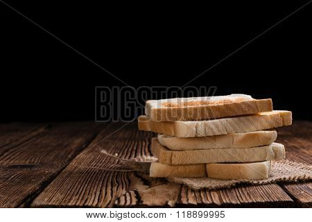 Toasted Toast Bread