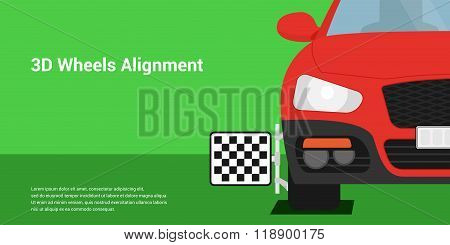 3D Wheels Alignment