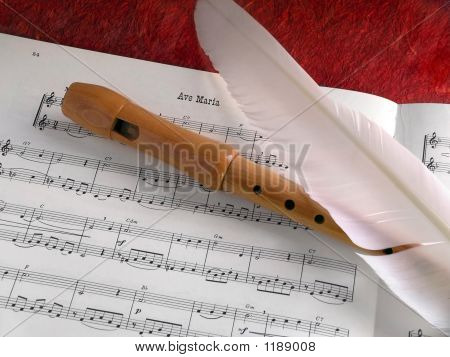 Flute And Feather