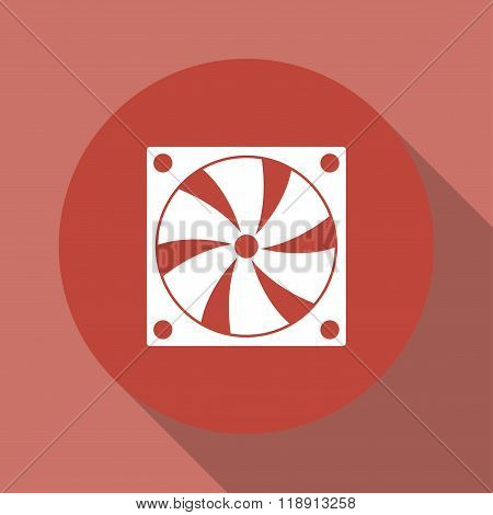 Computer Cooling Fan Icon