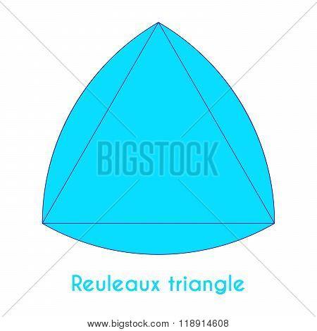 Blue Reuleaux Triangle