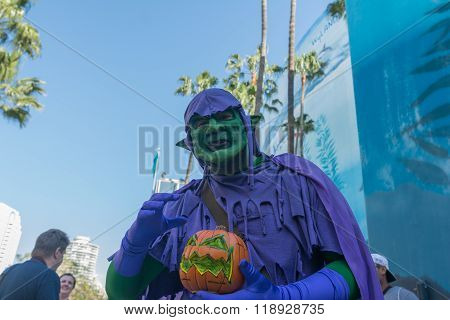 Participant With Witch Costume?