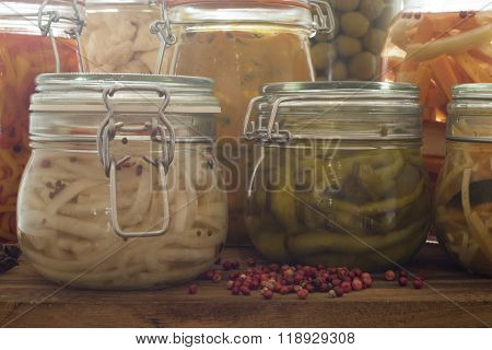 Pickled And Fermented Vegetables