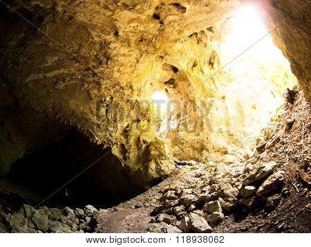Natural tunnel in Rakov Skocjan Valley