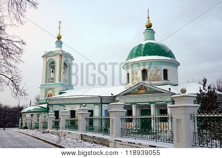 Trinity Church on the Sparrow hills in Moscow