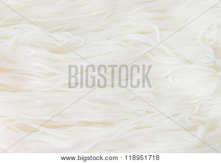 Thai Rice Noodles Background Or Thai Rice Vermicelli