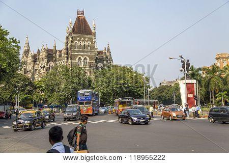 Oriental Buildings In Mumbai, India