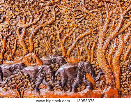 wooden Carved