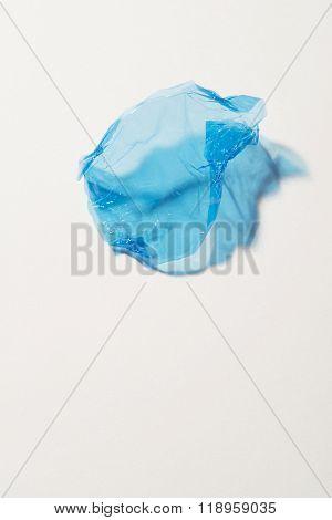Blue Sweet Wrapper