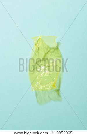 Yellow Sweet Wrapper