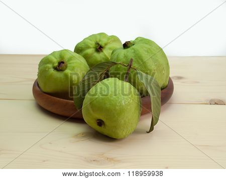 Fresh Guava Fruit.