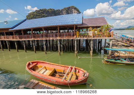 Koh Panyi village Thailand