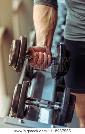 Man In Gym