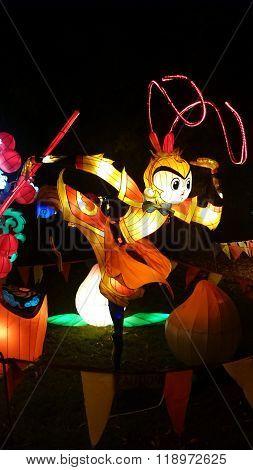 Monkey Chinese Lantern