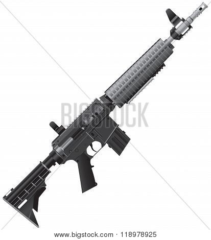 Automatic Rifle For Operational Work