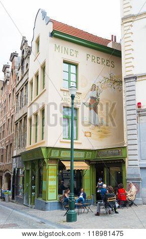 Restaurant In Brussels