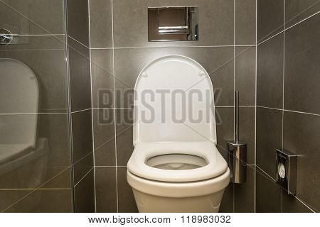 Interior Of The Room - Toilet In The Bathroom