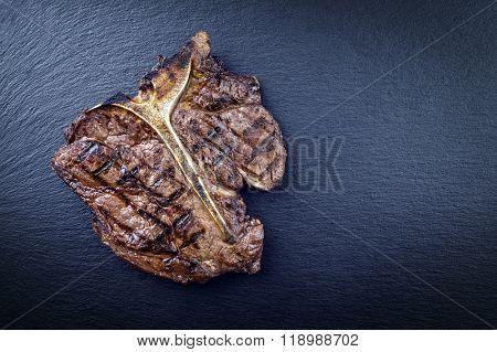 Dry Aged Barbecue T-Bone Steak