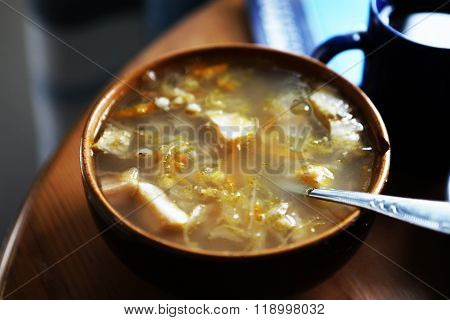 Estonian National cabbage soup