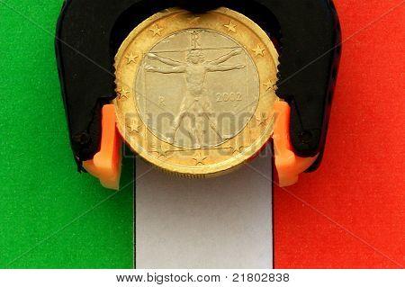 Italian Euro under pressure