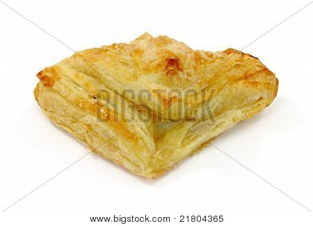 Apple Turnover On White Background
