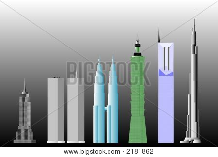 World'S Tallest Buildings Ranking