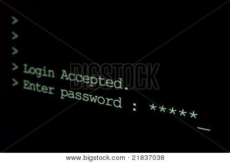 Login Sequence