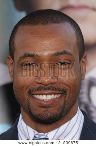 LOS ANGELES - JUN 30:  ISAIAH MUSTAFA arrives to the