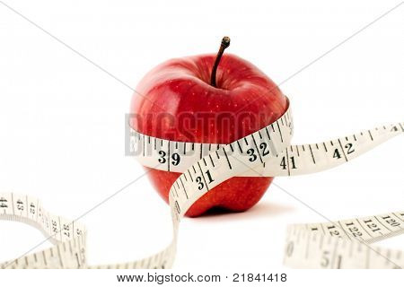 Photo of Fruit and Measuring Tape.