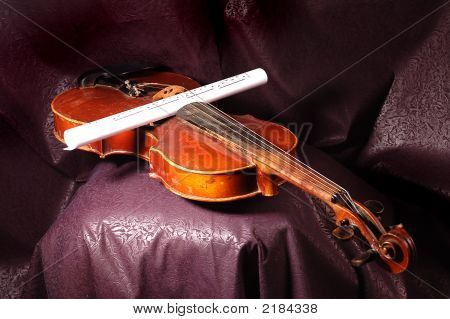 Violin And Note
