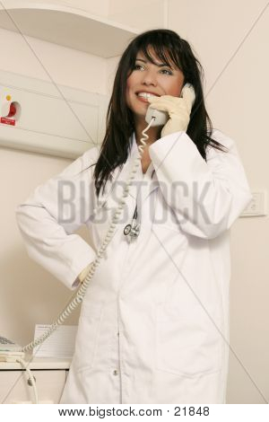 Medical Staffer On Duty