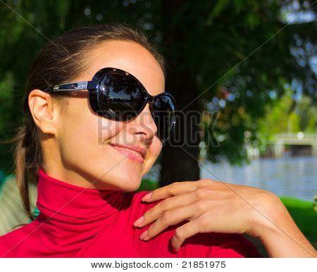 Outdoor Beauty Portrait