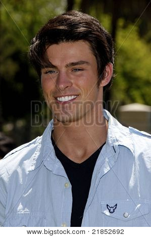 LOS ANGELES - JUN 7: Adam Gregory at the A Time for Heroes Celebrity Carnival to benefit the Elizabeth Glaser Pediatric Aids Foundation in Los Angeles, California on June 7, 2009