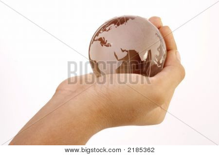 Welt in der hand