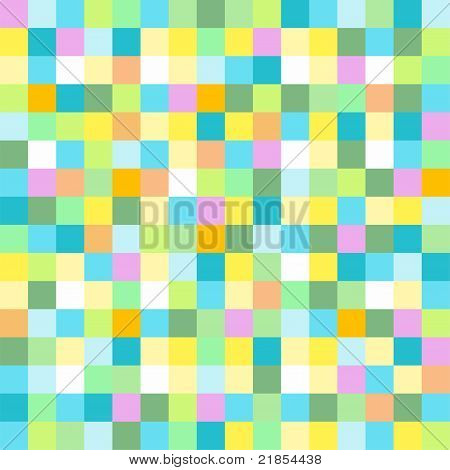 Abstract colored mosaic for background