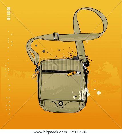 vector illustratie zakken voor een reis