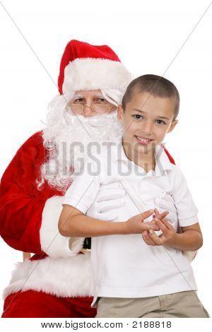 On Santas Lap