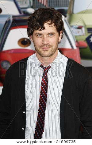 LOS ANGELES - JUNE 18: Tom Everett Scott at the Premiere of Walt Disney Pictures' 'Cars 2' at the El Capitan Theatre, California on June 18, 2011.