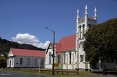 stock photo of apostolic  - Apostolic Church in Thames Coromandel New Zealand - JPG