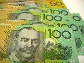 image of payday  - colourful australian cash  - JPG
