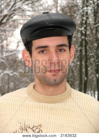 Man With Black Cap