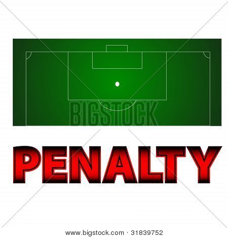 Football - Penalty Symbol