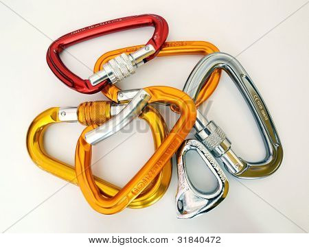Climbing Equipment - Multicolor Carabiners