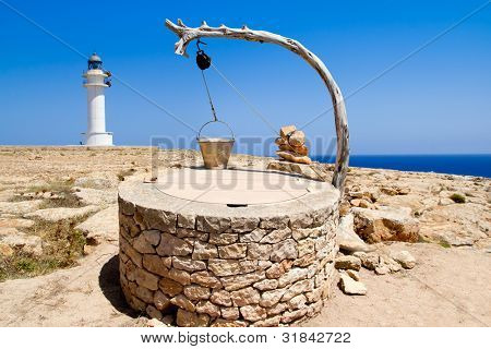 Draw well traditional mediterranean masonry in balearic islands [ photo-illustration]