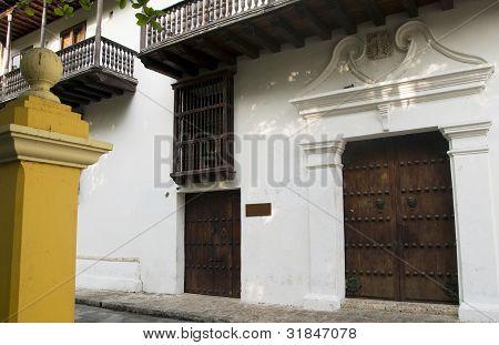 Entry Museum Bolivar Park Cartagena Colombia