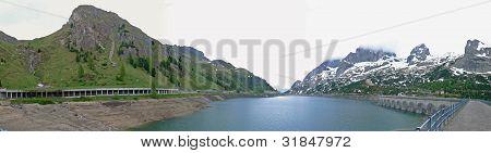 Alps lake