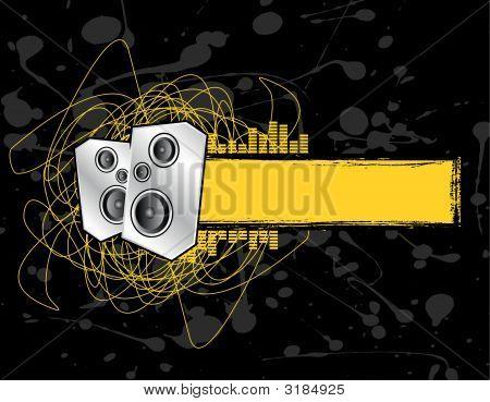 Grunge Speaker Banner