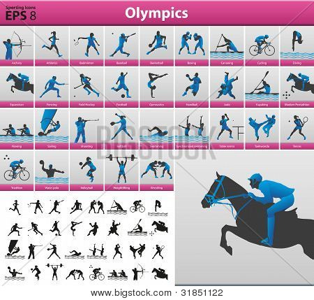 Olympics Silhouettes.eps