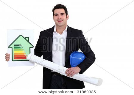 Man with flat energy cartel