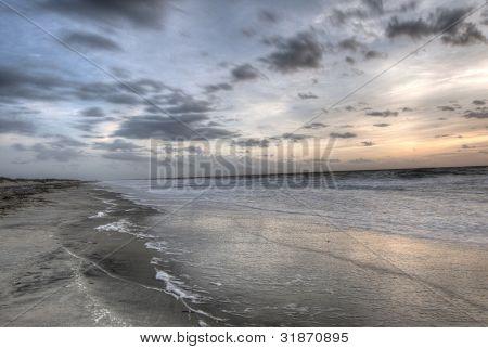 Sunrise in Tybee Island